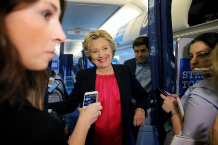Clinton assails Trump in blistering U.S. presidential debate