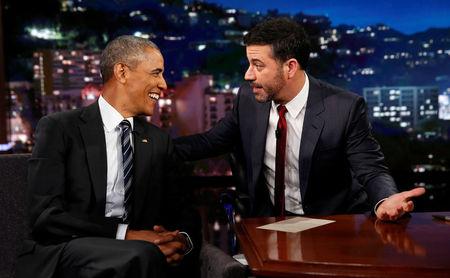 Obama trolls Trump on late-night TV