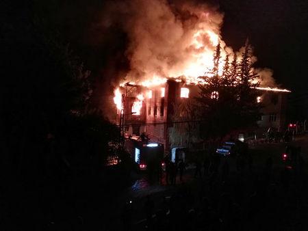 Fire in Turkish dormitory kills 12, including 11 teenage girls: officials