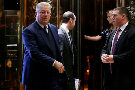 Trump, ex-Vice President Gore meet to talk climate policy