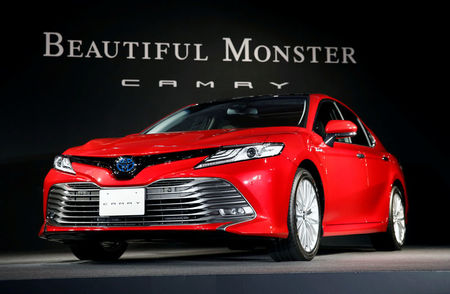 With new Camry, Toyota eyes bigger share of ailing U.S. sedan market