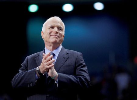 Senator McCain's daughter says went for hike with father