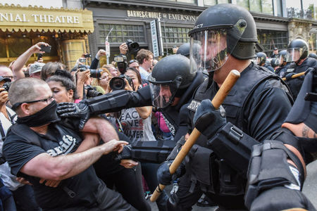 Boston march against hate speech avoids Charlottesville chaos