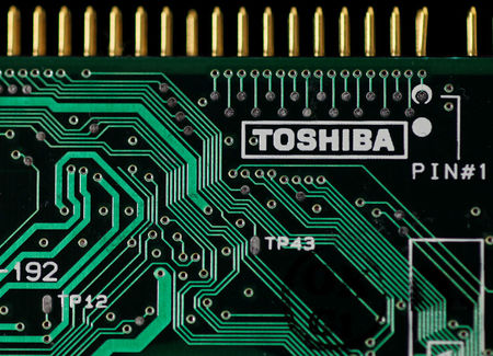 Toshiba to focus on chip talks with Bain, but doesn't rule out other suitors
