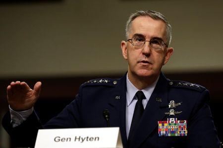 U.S. nuclear general says would resist 'illegal' Trump strike order