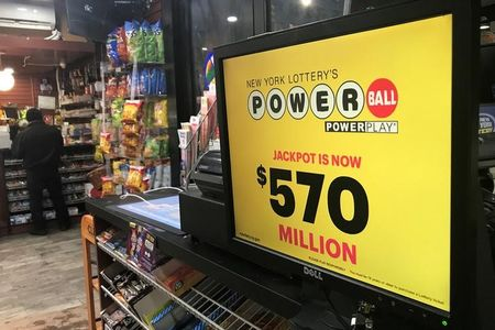 One winning ticket sold in $570 million Powerball jackpot