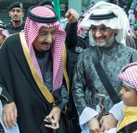 Saudi Prince Alwaleed pledges support for crown prince's reforms...