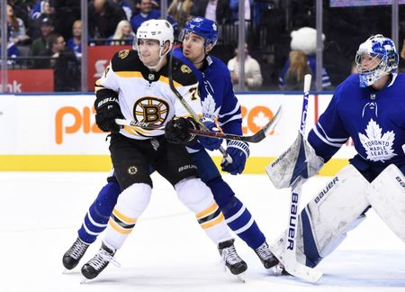 NHL Roundup: Maple Leafs Double Up Bruins