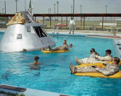 Apollo 1 recovery training