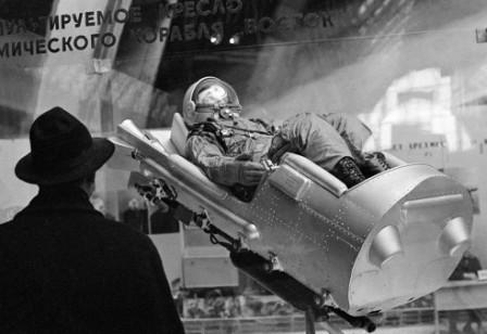 Dummy in Vostok seat Associated Press