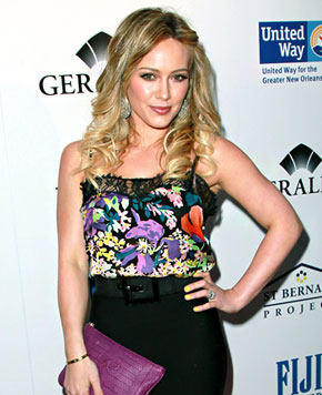 Hilary Duff Likely to Be Dropped from Film Due to Pregnancy