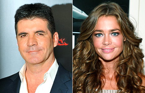 Simon Cowell: I Had a &quot;Bizarre&quot; Blind Date With Denise Richards