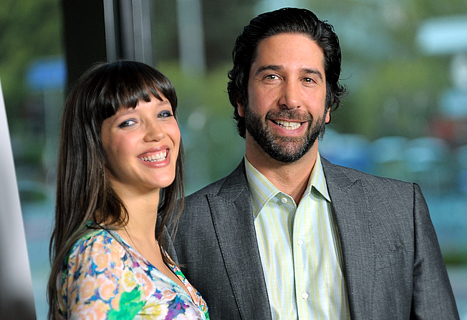 David Schwimmer, Zoe Buckman Renew Wedding Vows