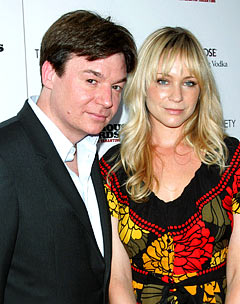 Mike Myers' Wife Gives Birth to Baby Boy Spike!