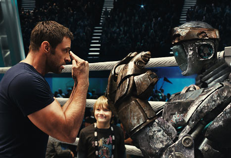 Hugh Jackman's Real Steel Beats George Clooney's Ides of March at Box Office