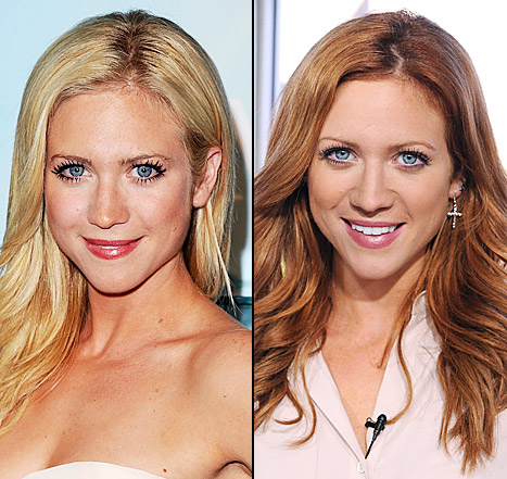 Which Hair Color Looks Better on Brittany Snow: Blonde or Red?