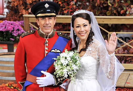 Today Show Anchors Recreate Royal Wedding on Halloween!