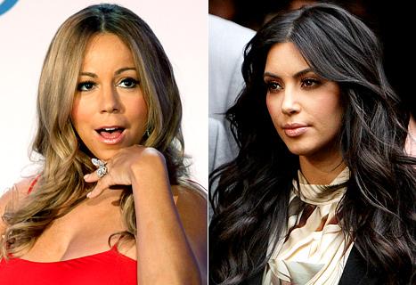 Mariah Carey Disses Kim Kardashian?