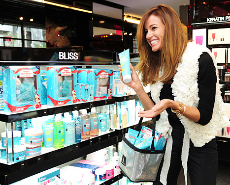 Kelly Killoren Bensimon Stocks Up on Bliss Goodies at Sephora!