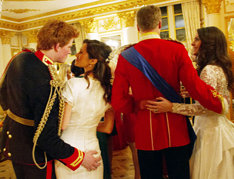 Prince Harry Gropes Pippa Middleton&#39;s Bum in Imagined Wedding Day Fling