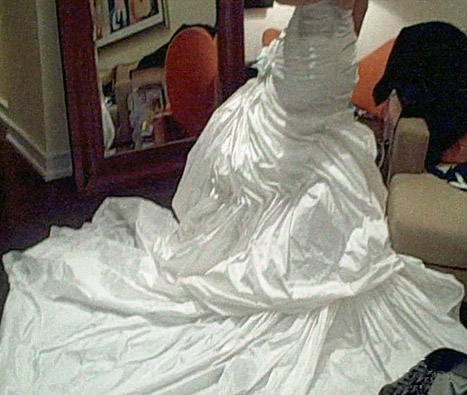 Beyonce's Wedding Dress Was Designed by Mom, Tina Knowles!