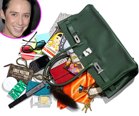 Johnny Weir: What's in My Bag?