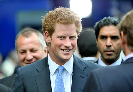 Prince Harry Gets VIP Treatment at Universal Studios
