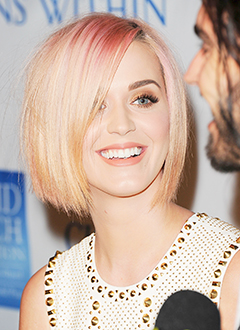 PIC: See Katy Perry's Drastic Hair Makeover