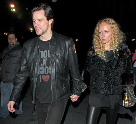 Jim Carrey Romancing NYC Student Anastasia Vitkina. Jim Carrey's new lady ...
