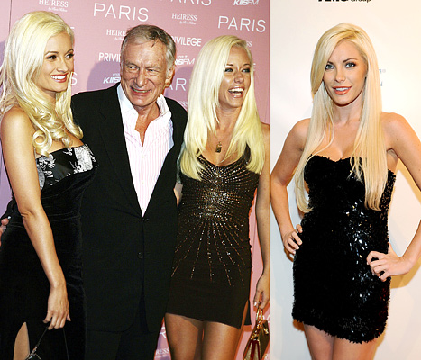 "Kendra Wilkinson, Holly Madison Slam Hugh Hefner's ""Mean"" Ex-Fiancee Crystal Harris Over Dog"