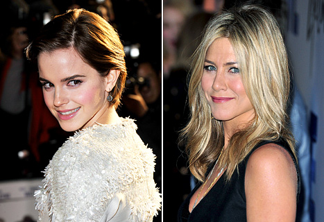 Emma Watson Beats Jennifer Aniston Again for Best Celeb Haircut