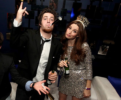 Lee DeWyze and Fiancee Ring in 2012!