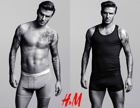 David Beckham to Star in H&M Commercial During Super Bowl XLVI