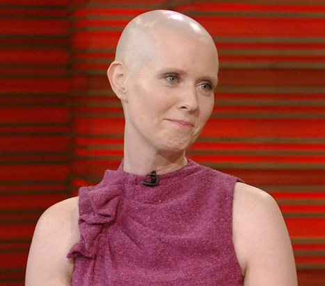 Cynthia Nixon Goes Bald!