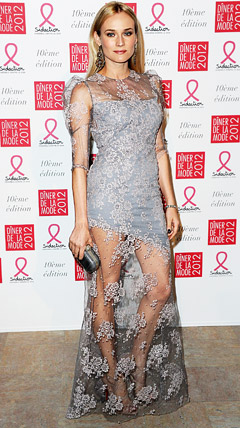 Diane Kruger's Sheer Lace Dress: Love It or Hate It?