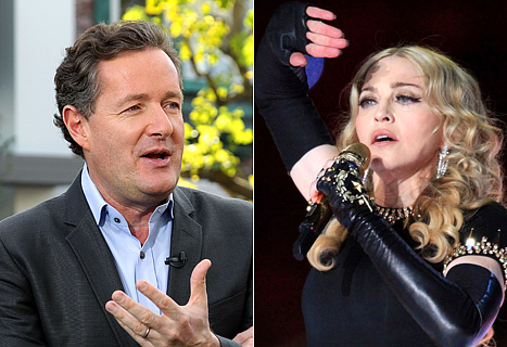 Piers Morgan: Madonna&#39;s Super Bowl Performance Was &quot;Gruesome&quot;