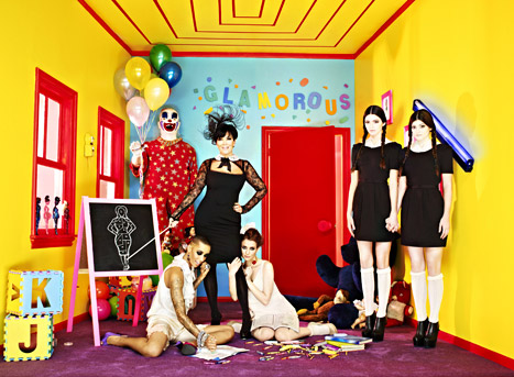Kreepy! Kendall and Kylie Jenner Become The Shining Twins in Bizarre Shoot