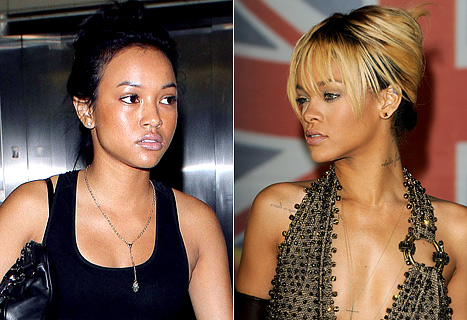 Rihanna and Chris Brown's Girlfriend Karrueche Tran at War!