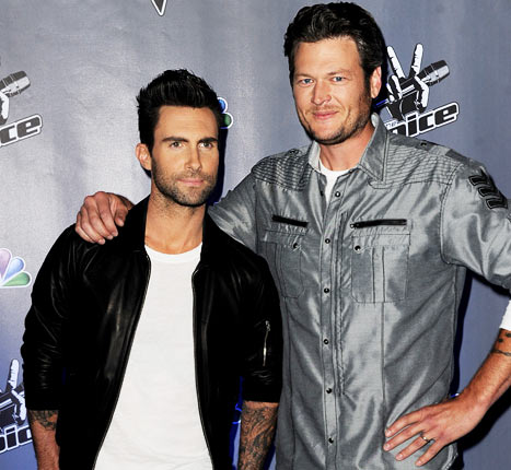 "Blake Shelton: I ""Want to Kiss"" Adam Levine ""So Bad"""