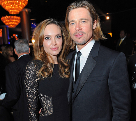 Brad Pitt, Angelina Jolie Dance to Rihanna at Make It Right Event