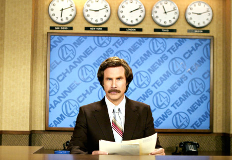 Will Ferrell Announces Anchorman Sequel!