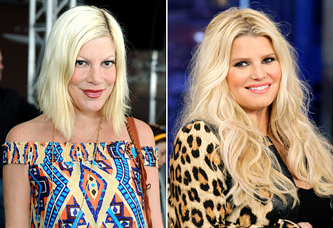 Tori Spelling Defends Pregnant Jessica Simpson&#39;s Weight: Lay Off!