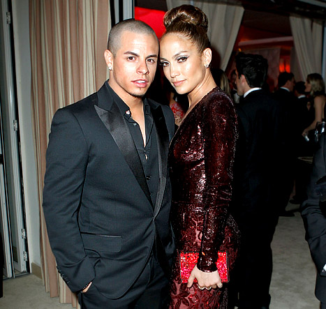 Jennifer Lopez, Casper Smart Shot &quot;Orgy Scene&quot; for &quot;Dance Again&quot; Music Video