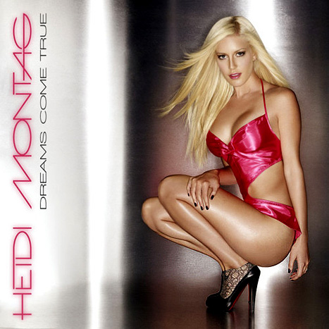 "Heidi Montag Flashes Major Cleavage on ""Dreams Come True"" EP Cover"
