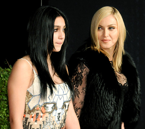 Madonna &quot;Wasn&#39;t Very Happy&quot; to See Daughter Lourdes, 15, Smoking