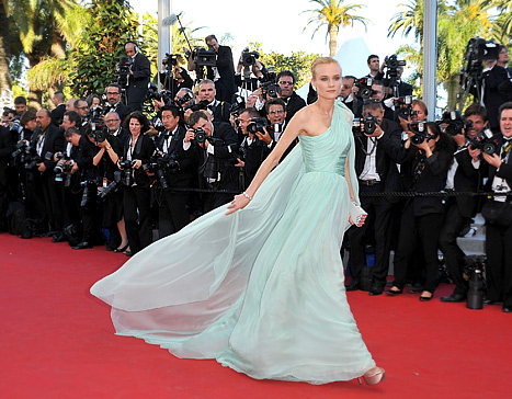 Cannes Film Festival 2012: Diane Kruger's Four Best Looks!