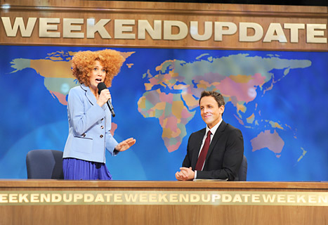 "Seth Meyers: ""Really Sad"" Over Kristen Wiig's SNL Departure"