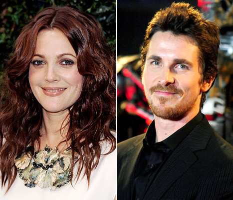 Drew Barrymore Dumped Christian Bale After One Date!