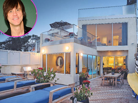 Jim Carrey Selling Malibu Home for $13.9 Million