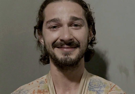Shia LaBeouf Does Full-Frontal Nudity in Sigur Ros Music Video